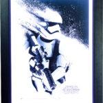 Star Wars Episode VII: Stormtrooper Paint Poster