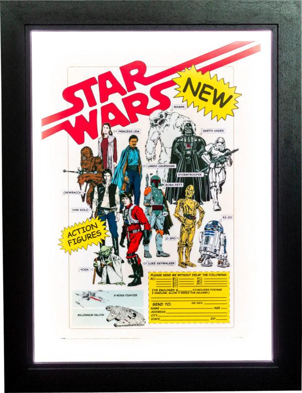 Star Wars Action Figures Poster