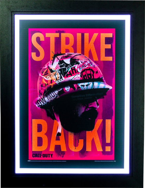 Call of Duty Black Ops Cold War: Strike Back Poster