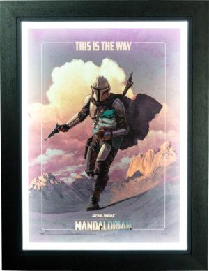 Star Wars: The Mandalorian - On The Run Poster