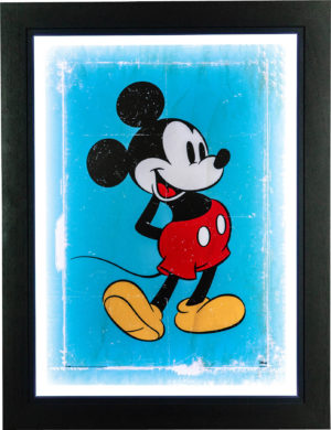 Mickey Mouse: Retro Poster