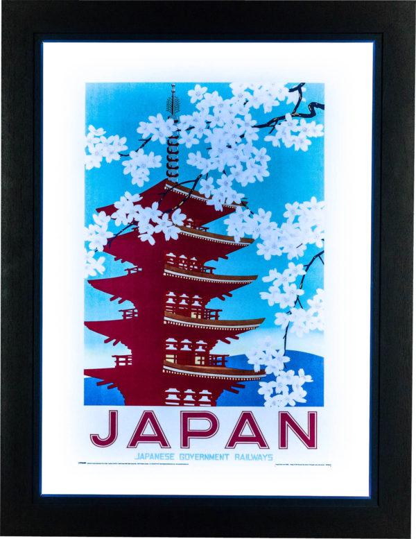 Japan Railways: Blossom Poster