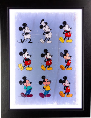 Mickey Mouse: Evolution Poster